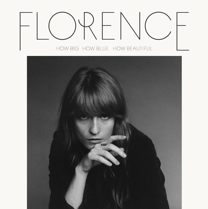 Florence+The Machine How Big How Blue How Beautiful cover