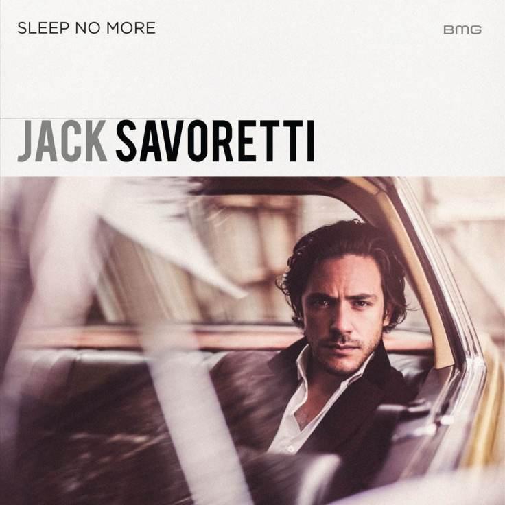 Jack Savoretti Sleep no more cover