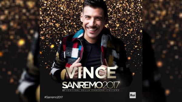 Francesco Gabbani Sanremo 2017