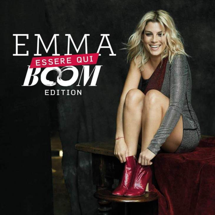 Emma Essere qui Boom edition cover