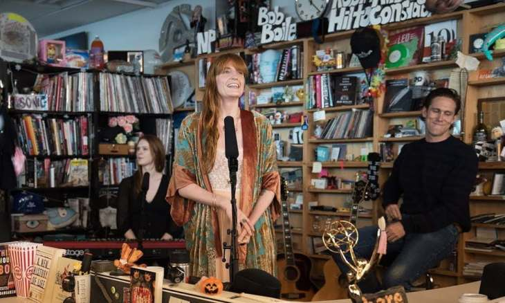 Florence + The Machine dal vivo al Tiny Desk
