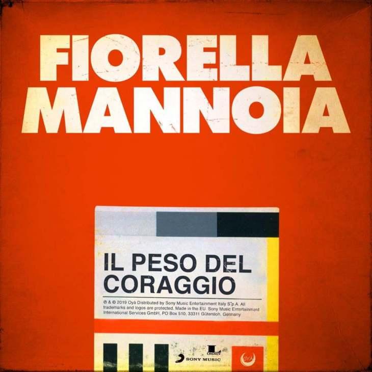 Fiorella Mannoia Il peso del coraggio cover