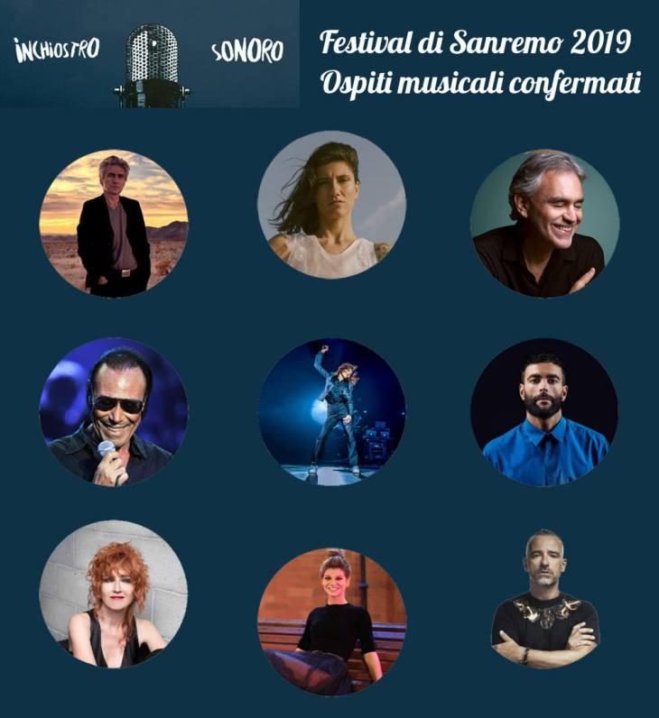 Ospiti Sanremo 2019