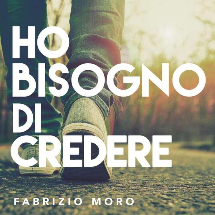 Fabrizio Moro Ho bisogno di credere cover