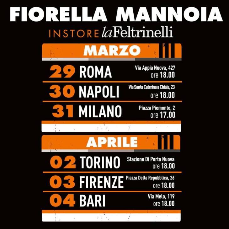 Fiorella Mannoia Personale instore