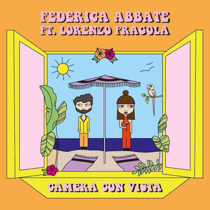 Federica Abbate ft Lorenzo Fragola Camera con vista cover