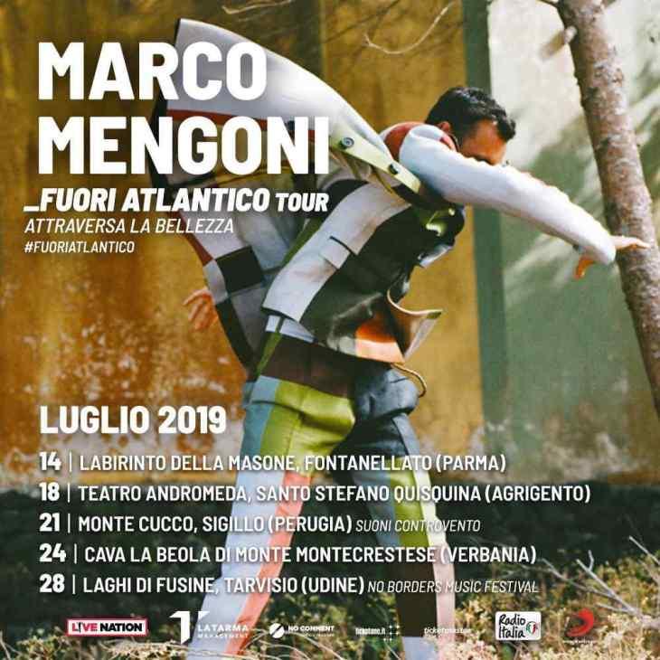 Marco Mengoni Fuori Atlantico tour