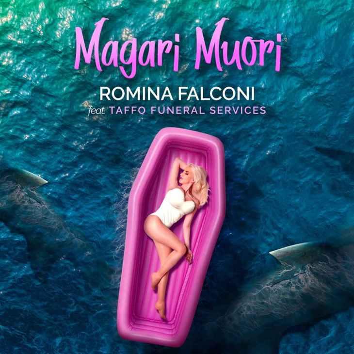 Romina Falconi Taffo Magari muori cover