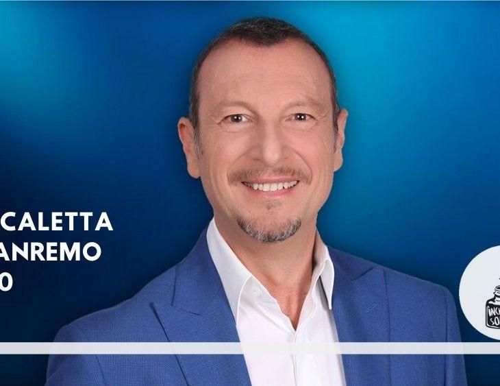 Sanremo 2020 scaletta programma ospiti