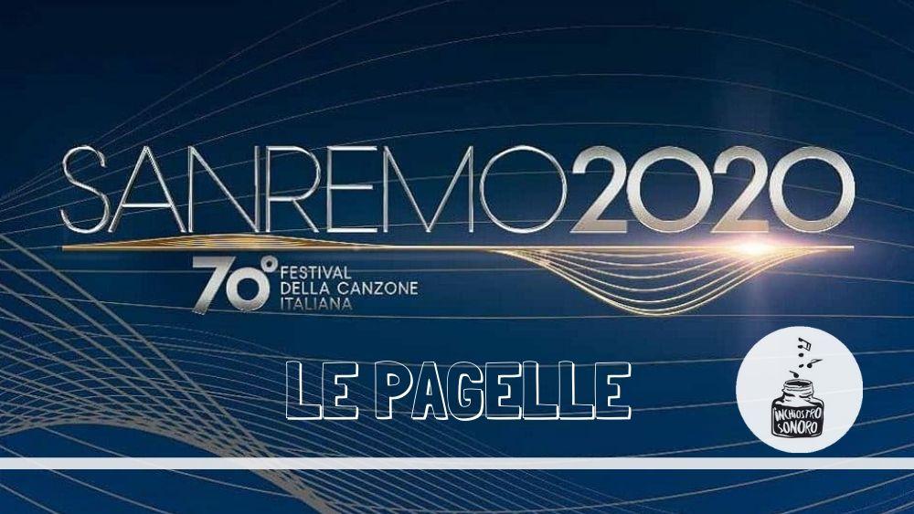 Sanremo 2020 pagelle brani big