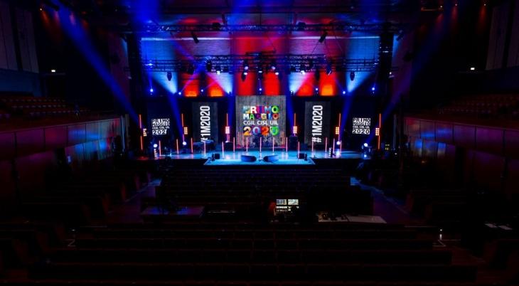Auditorium Parco della Musica Stage Primo Maggio 2020