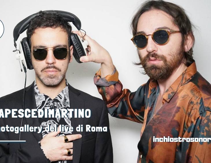 COLAPESCEDIMARTINO photogallery live Roma