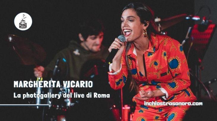 Margherita Vicario photogallery live Roma