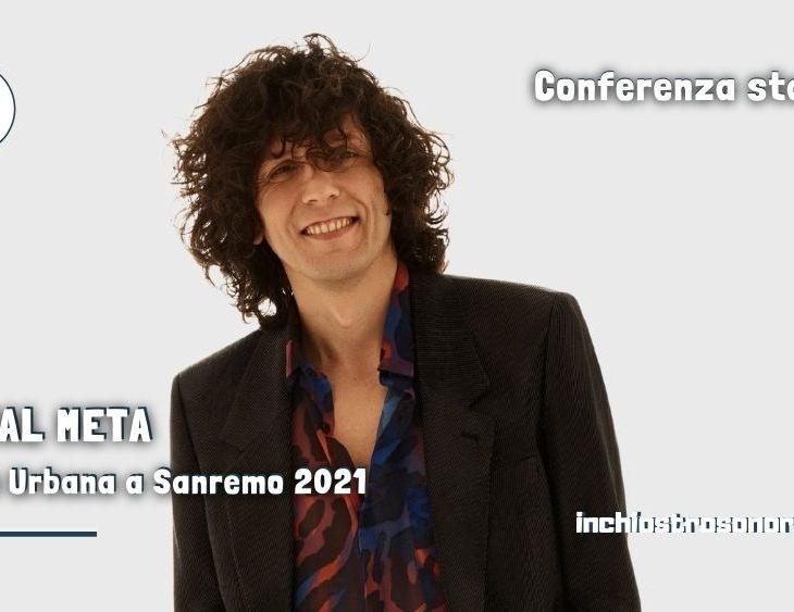 Ermal Meta Tribù Urbana conferenza stampa Sanremo 2021
