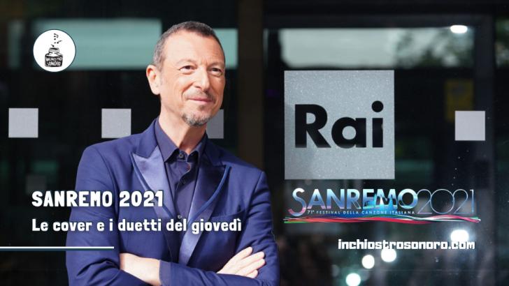 Sanremo 2021 serata cover duetti