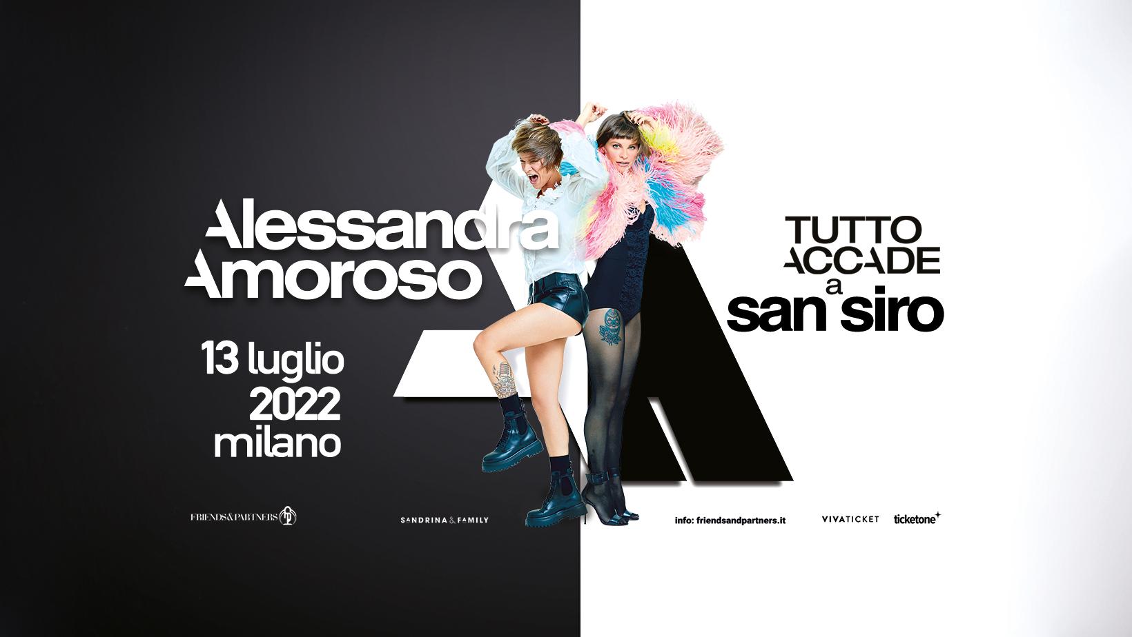 Alessandra Amoroso Tutto accade a San Siro biglietti