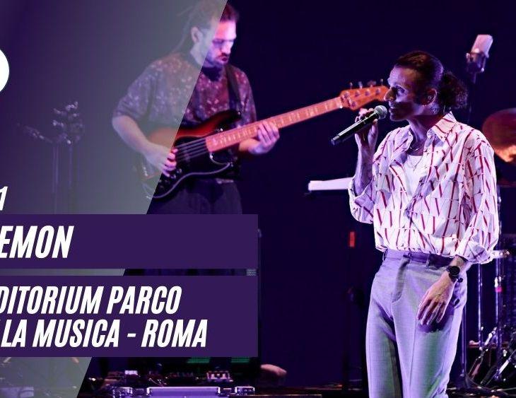 Ghemon live Auditorium Roma 2021