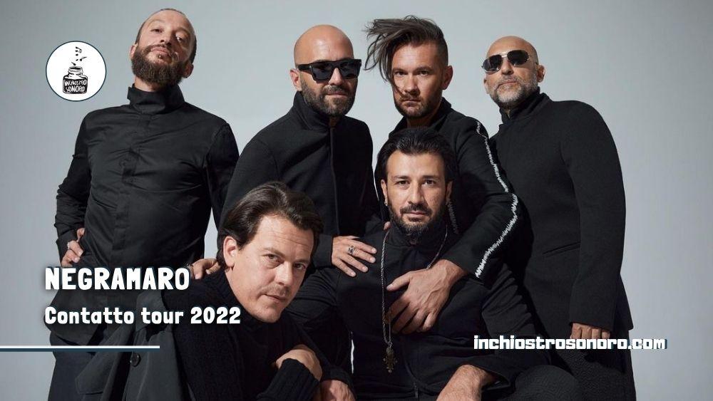 Negramaro Contatto tour 2022