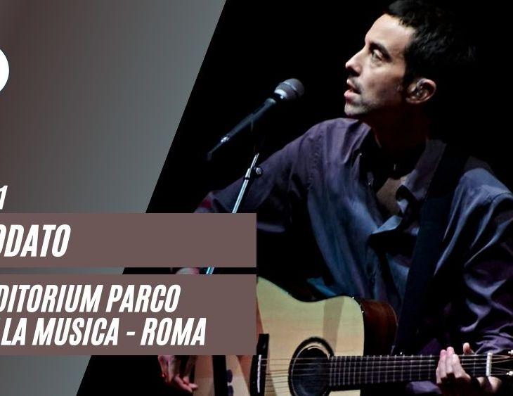 Diodato live Auditorium Roma 2021