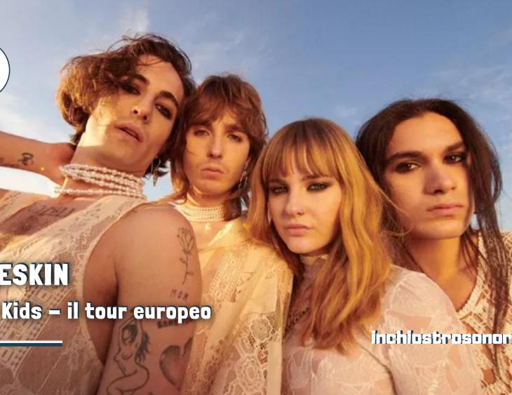 Måneskin Loud Kids tour 2021